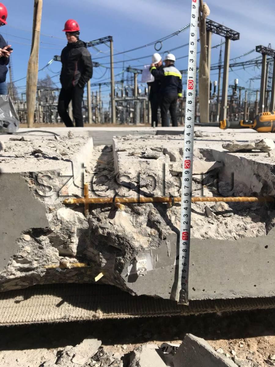 Отбор образцов и лабораторные испытания бетона/железобетона, металла, кирпича, дерева