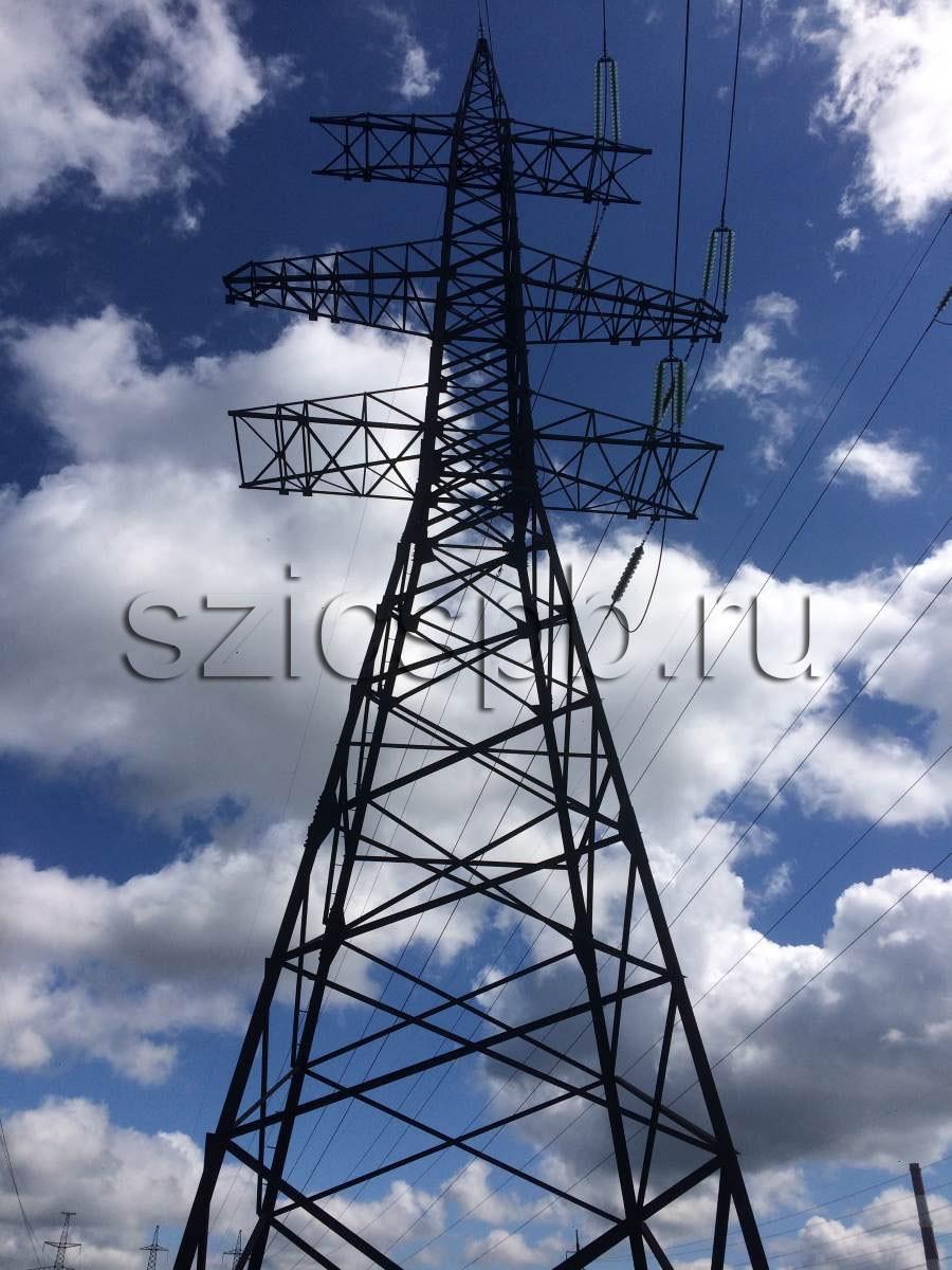 Обследование высоковольтных линий передач (ВЛ)